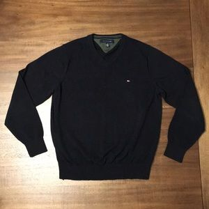 Tommy Hilfiger V-Neck Sweater. Men's Size M